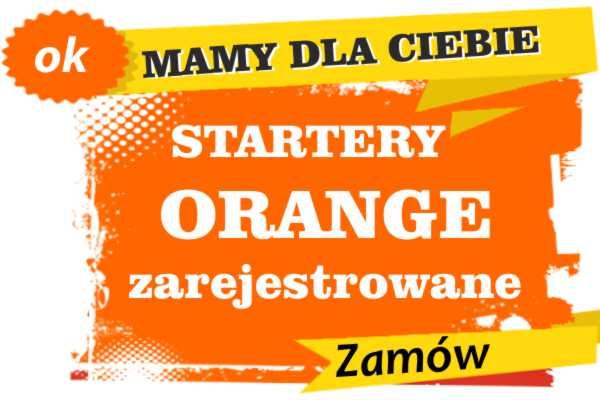 Sprzedam zarejestrowane karty sim orange Dynów  zadzwoń 887 332 665